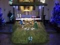 Instalacja szopki bożonarodzeniowej, 22-23.12.2014